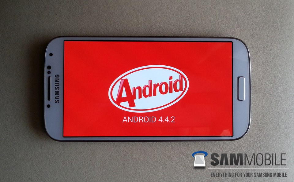 Android download Galaxy S4 kitkat Samsung Update