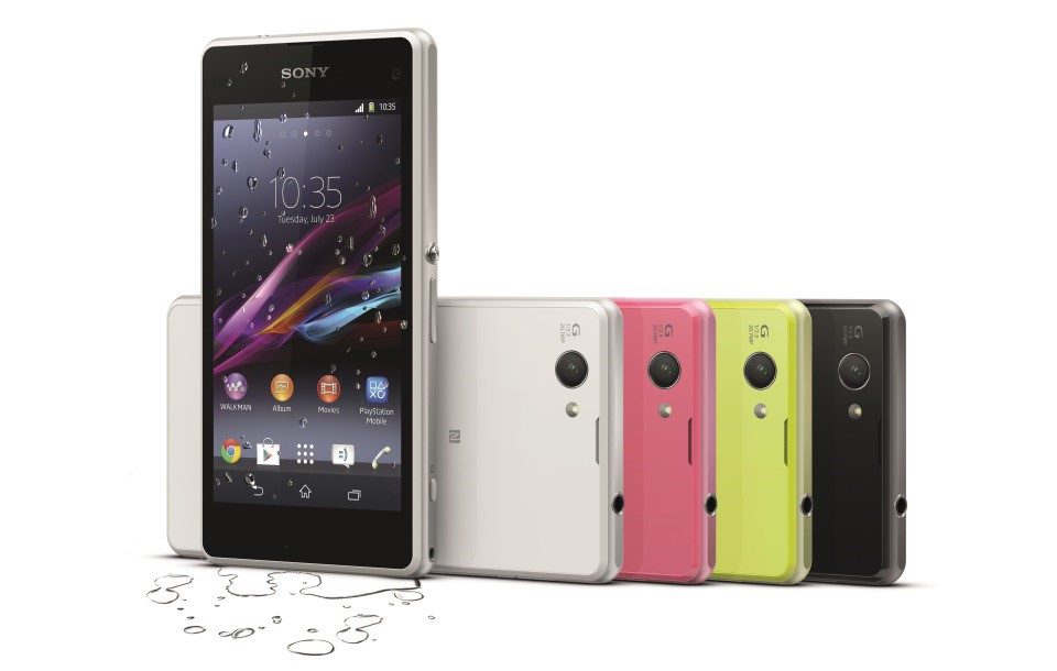 Android CES2014 Compact Sony Xperia z1 Z1 Compact