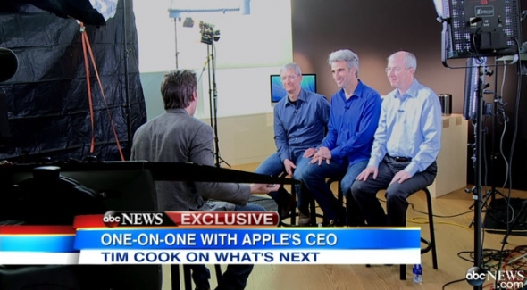 Apple interview tim cook Video
