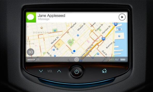 Apple auto iOS ios 7 vorstellung