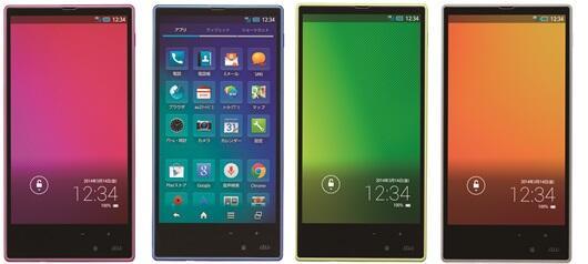 Aquos Sharp Smartphone