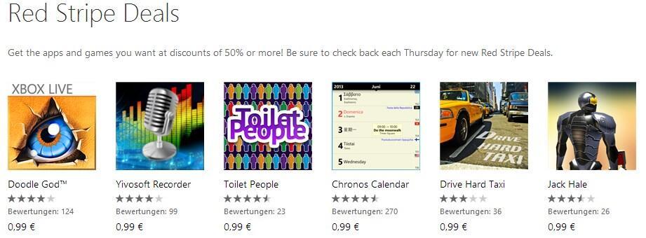 app deals games red stripe Spiele Windows Phone wp
