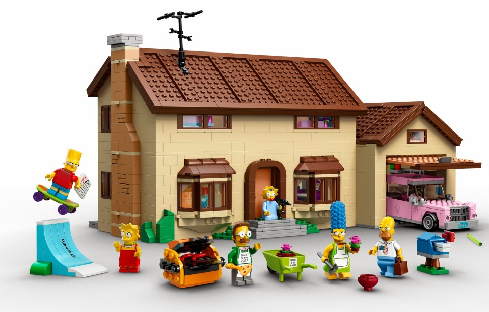 fun lego Simpsons