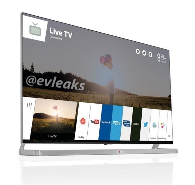 ces CES2014 Leak LG TV webOS