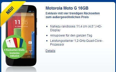 Android Moto G Nexus 5