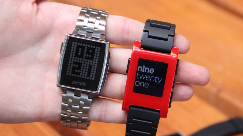 Android CES2014 iOS metall Pebble smartwatch Uhr