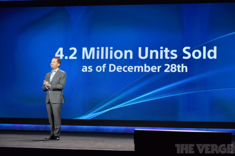 CES2014 playstation ps4 Sony