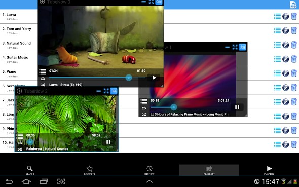 Android appgratis YouTube