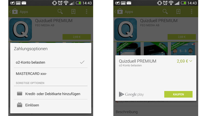 Android Apps deal o2