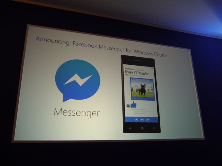 facebook instant messaging Messaging Messenger microsoft MWC2014 social Windows Phone