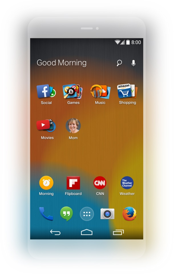 Android firefox launcher Mozilla Preview