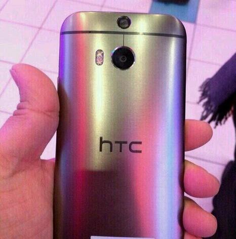 Edelstahl foto HTC HTC M8 Leak m8 rückseite
