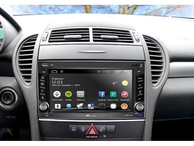 Android auto KFZ navigation Radio