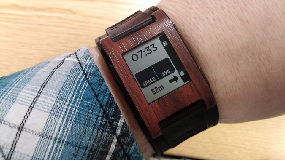 Android GPS navigation Pebble smartwatch