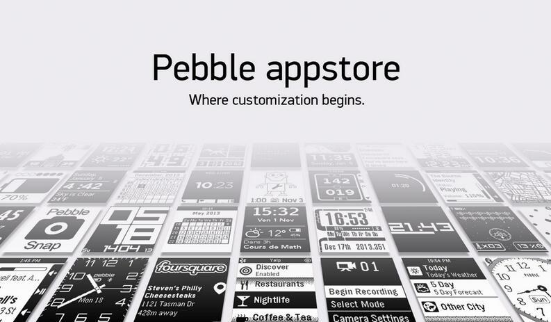 Android app appstore Pebble smartwatch Update