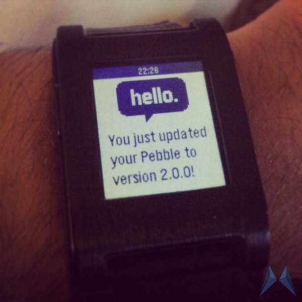 Android iOS Pebble smartwatch Uhr