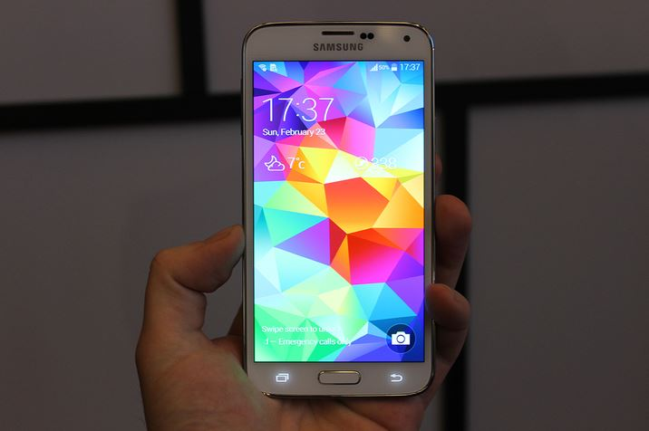 Android galaxy Leak MWC2014 s5 Samsung
