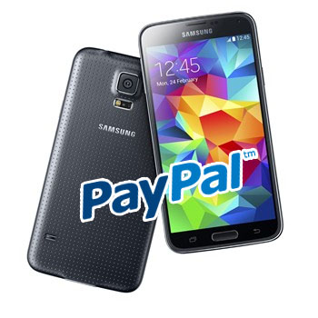 Android fingerabdruck Galaxy S5 paypal s5 Samsung shopping