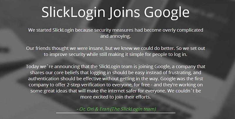 Google login security Sicherheit übernahme
