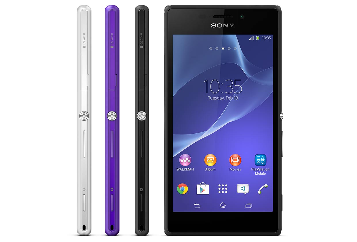 Android M2 MWC2014 Sony Xperia
