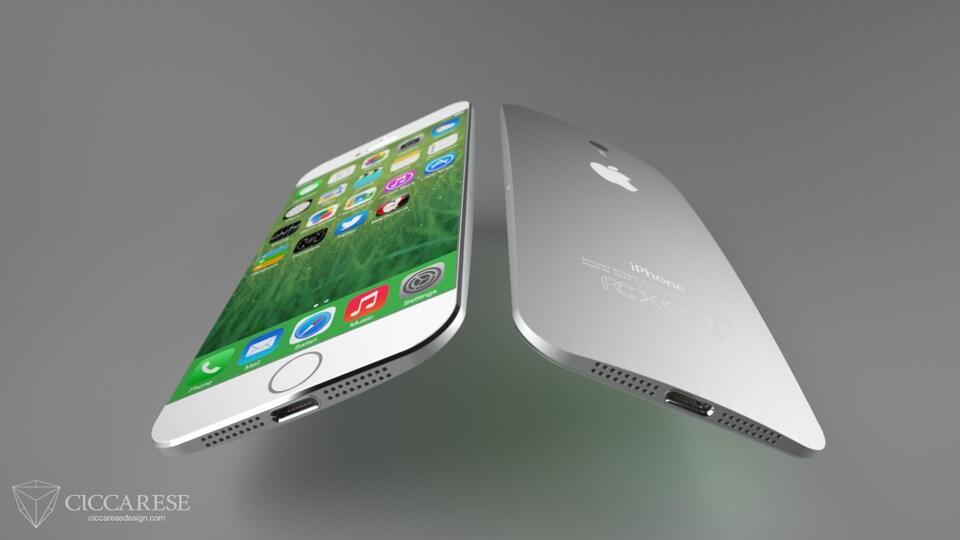 Apple iOS iphone Konzept