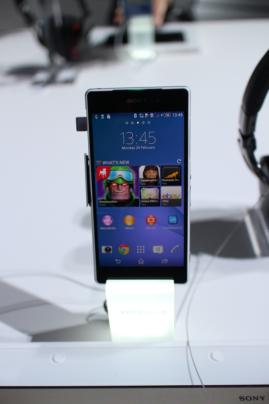 4k Android MWC2014 Sony Xperia Z2
