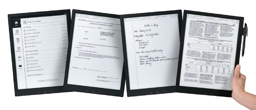 digital e-ink paper Sony
