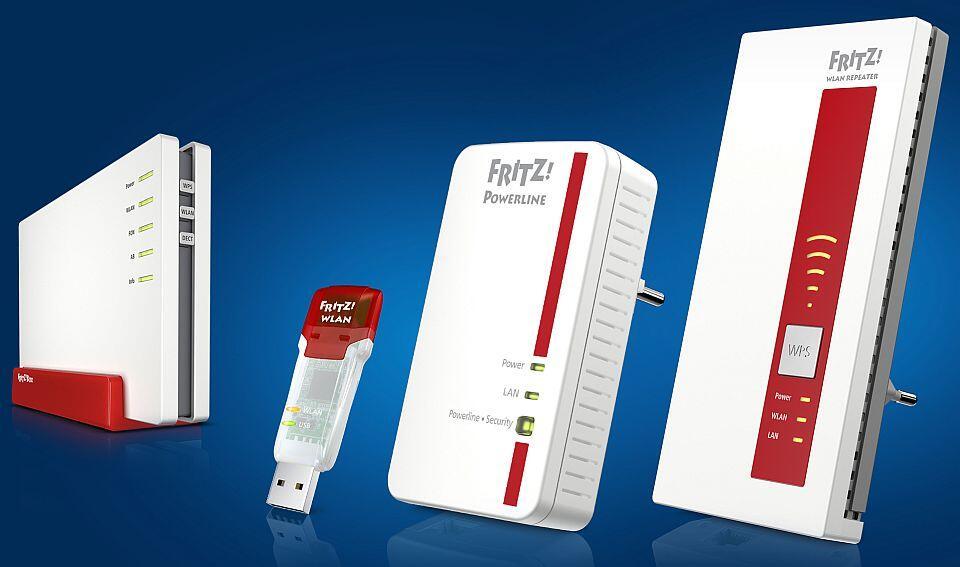 avm cebit2014 fritzbox repeater Router