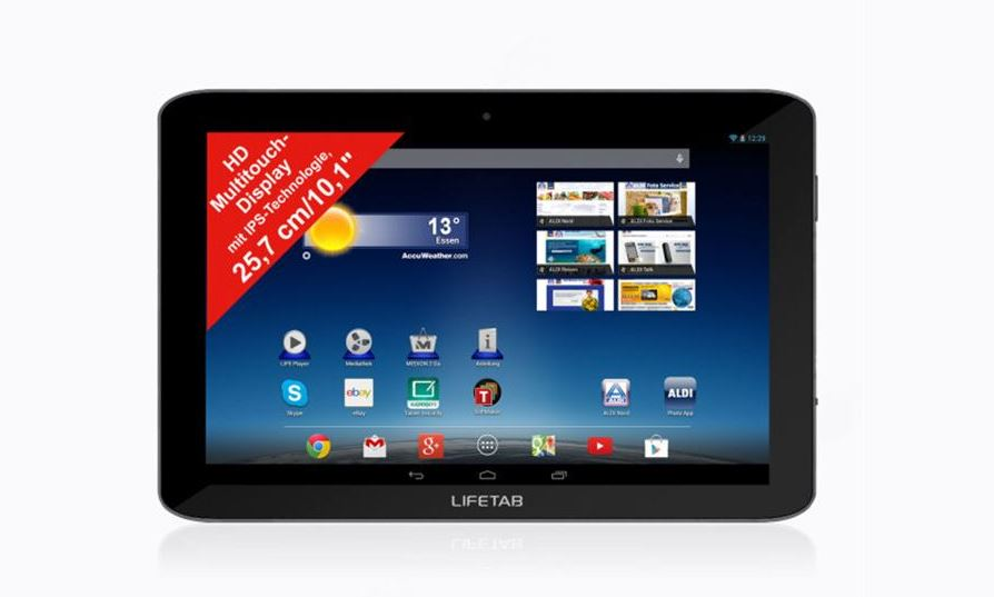 aldi Android E10320 lifetab medion tablet