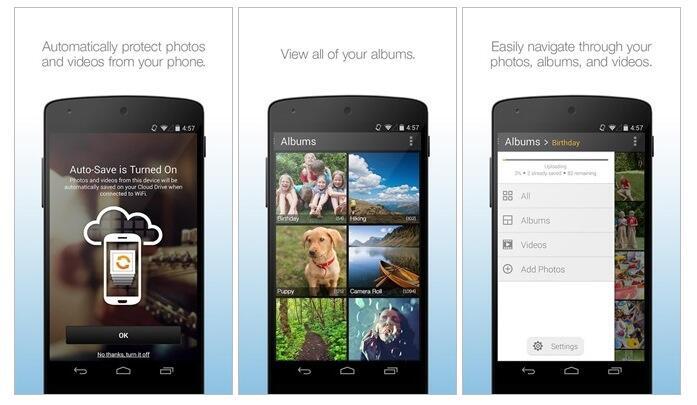 amazon Android cloud photo