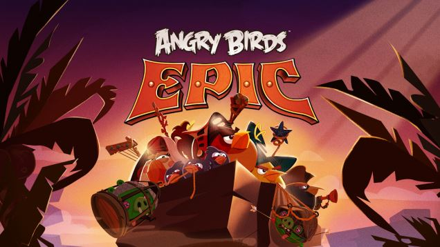 Android Angry Birds epic iOS rovio Windows Phone