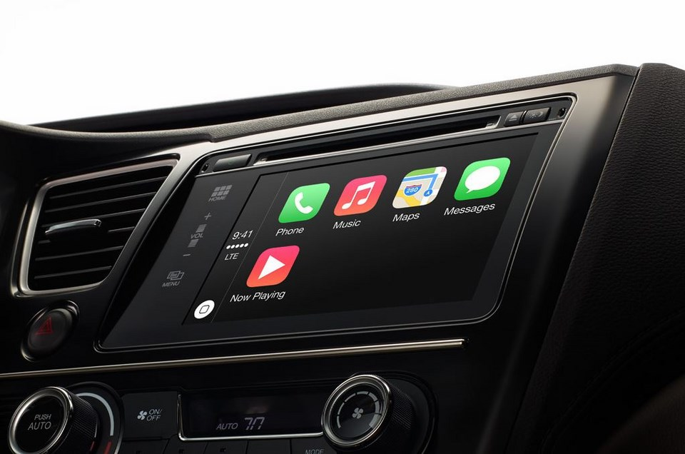 Apple auto car carplay ford