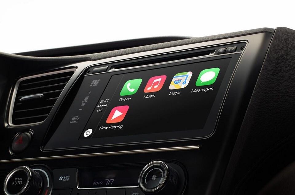 Apple auto carplay iOS