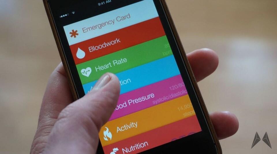 app Apple fitness HealthBook iOS iphone