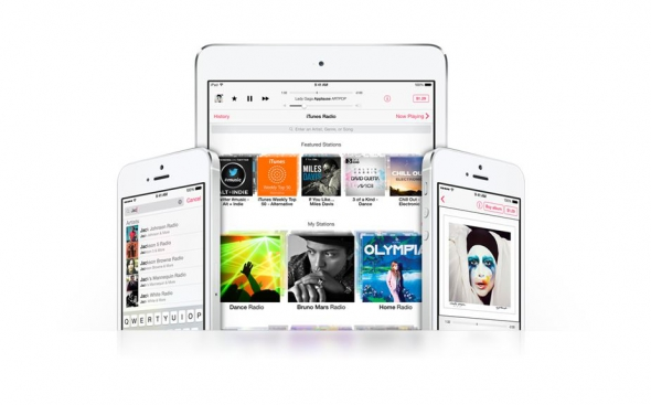 Android Apple itunes Musik streaming