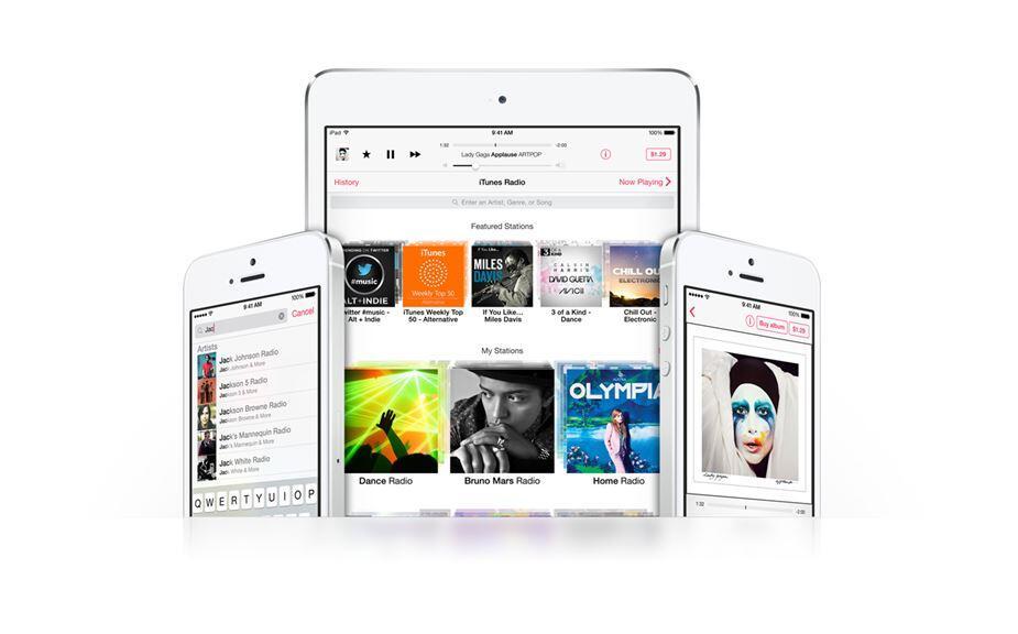 Apple iOS itunes Radio