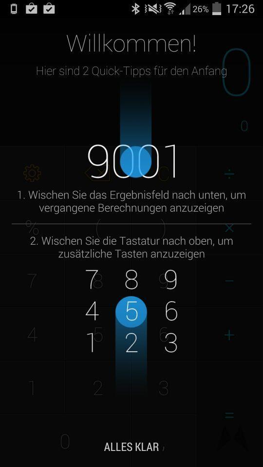 Android Taschenrechner
