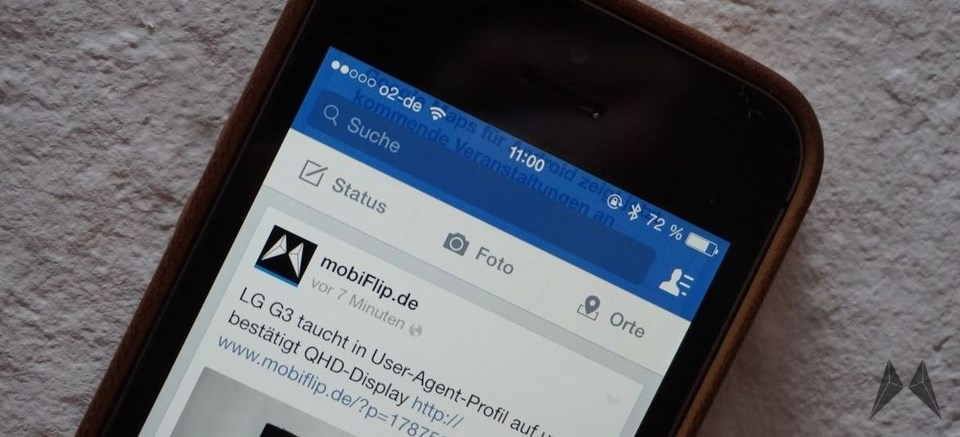 Android app facebook iOS social Update