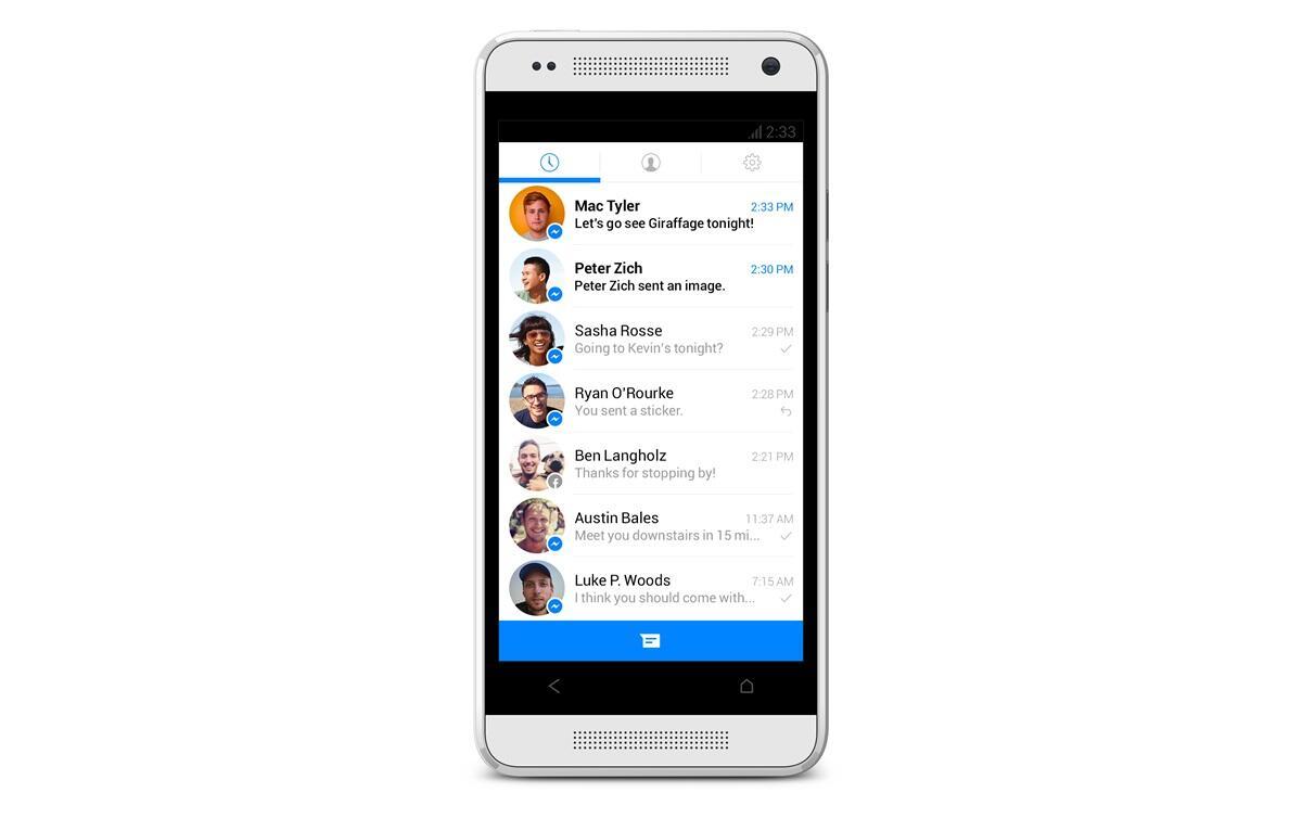 app facebook Messenger Update