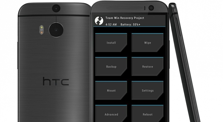 Android HTC modding One (M8) Recovery root TWRP