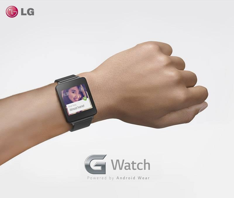Android G Watch Google LG