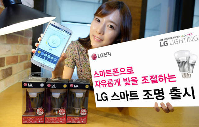 Android iOS LG smart home