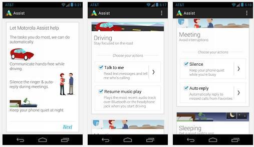 Android moto Motorola Update