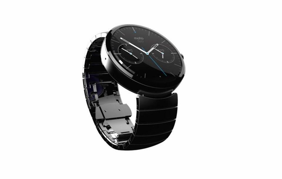 Motorola Moto 360: Smartwatch mit Android Wear angekündigt