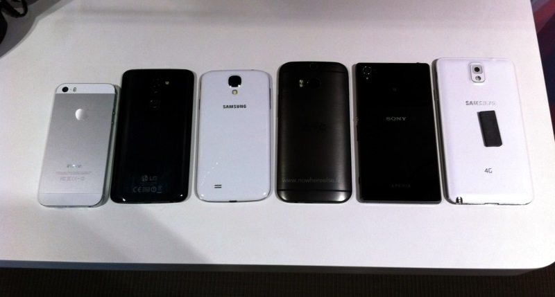 2014 Android HTC Leak one