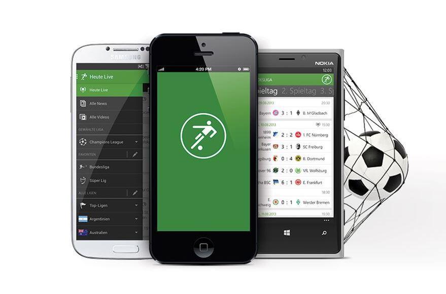 Android iliga iOS onefootball