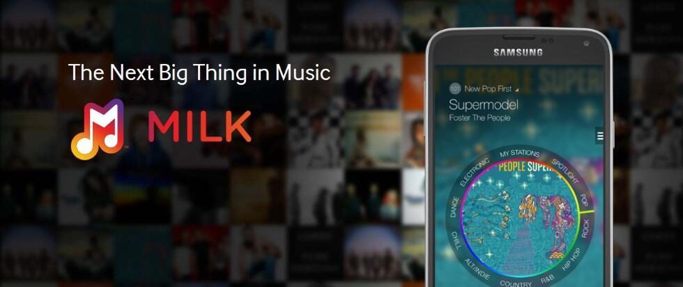 milk Musik Radio Samsung streaming