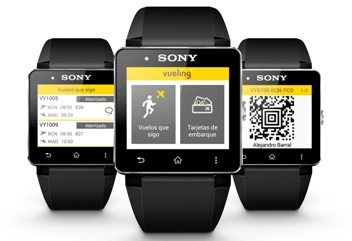 Android smartwatch Smartwatch 2 Sony