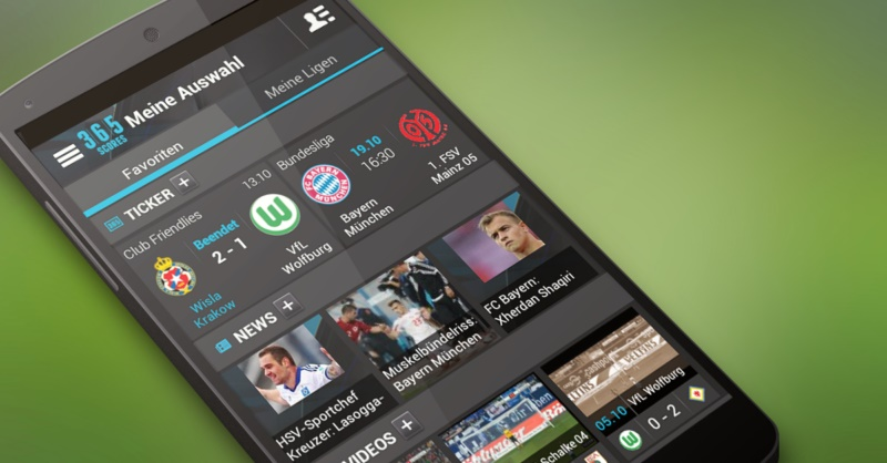 Android app fussball iOS News Sport