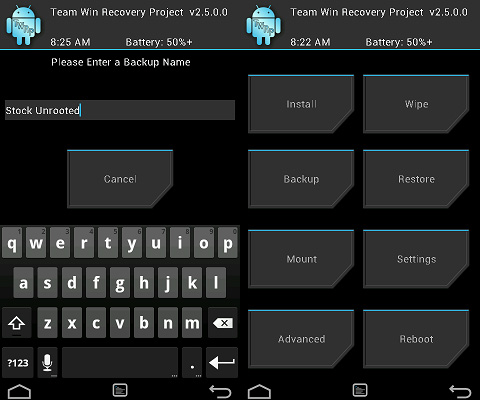 Android CWM modding Recovery root TWRP